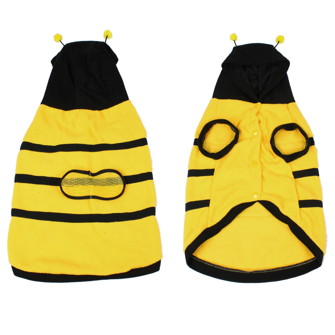 Dress up Costume Bumblebee Bee Doogie Dog Coat Clothes Pet Apparel XXL