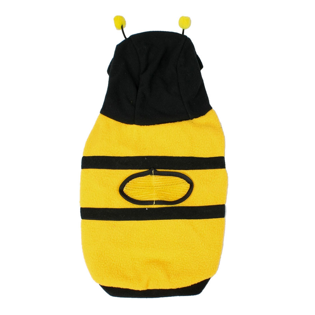 Dress up Costume Bumblebee Bee Yorkie Doogie Dog Coat Clothes Pet Apparel S