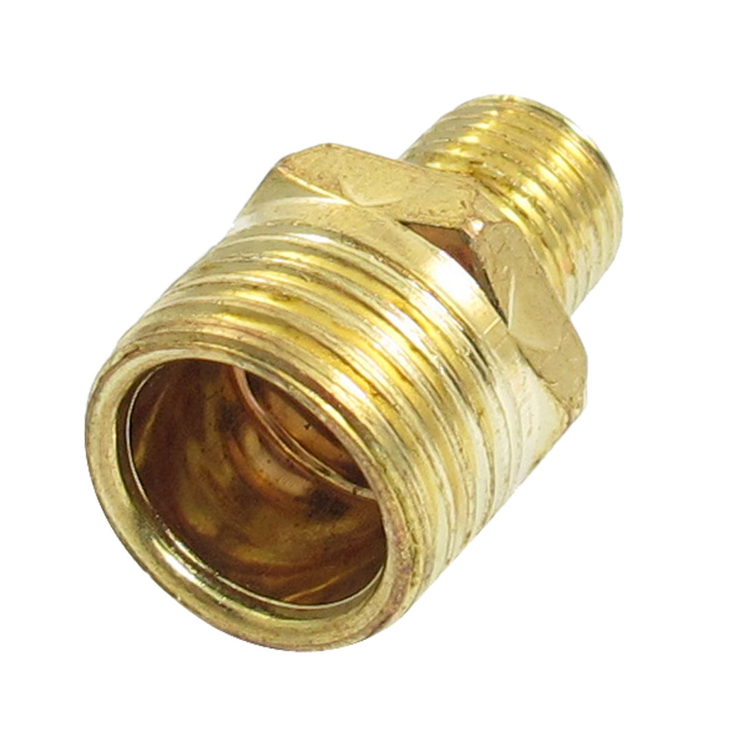19.5mm to 12.5mm Male Thread Full Port Brass Connector Water Pipe Fitting