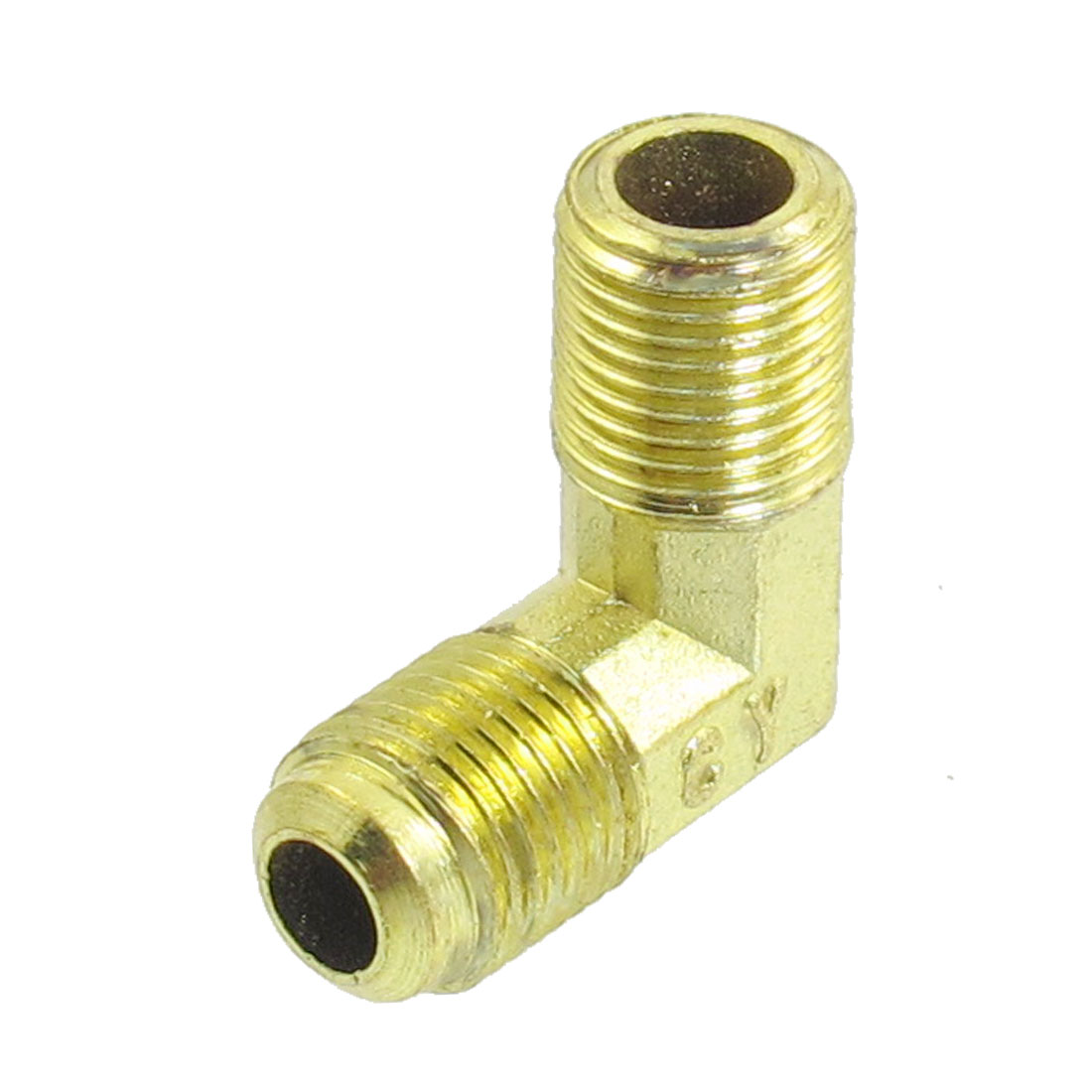 10mm to 10mm M/M Brass 90 Degree Equal Male Elbow Pipe Connector Adapter