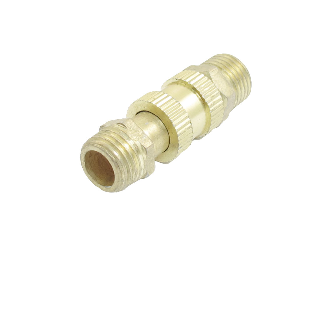 "1/2"" Male Thread to 1/2"" Female Thread Brass Quick Adapter Fitting"