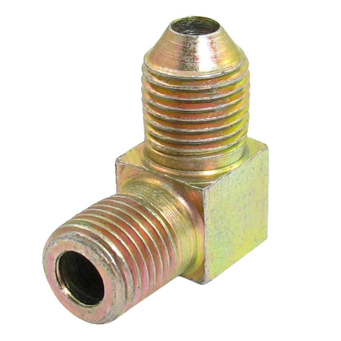 1/8 to 1/8 Male Thread L Type Brass Connector Water Pipe Fitting
