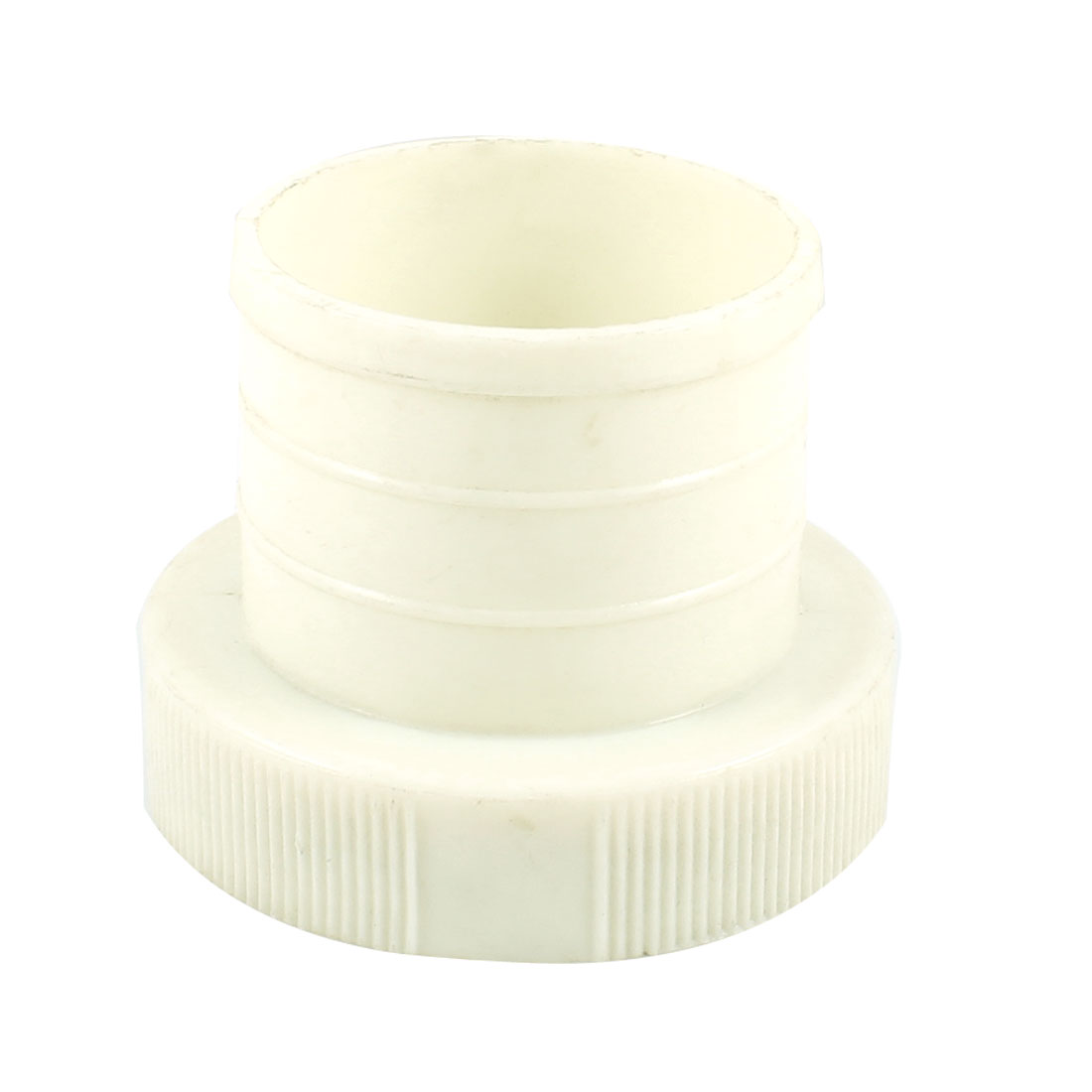 Off White Plastic Hose Quick Adapter Connector for Fire Hydrant