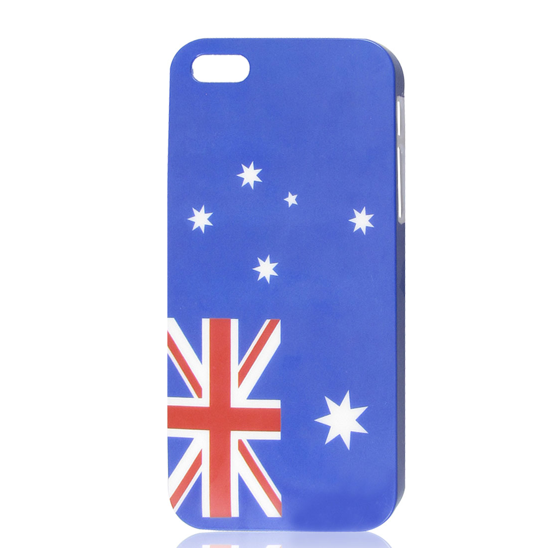 US USA American Flag Star Blue Hard Back Case Cover for Apple iPhone 5 5G