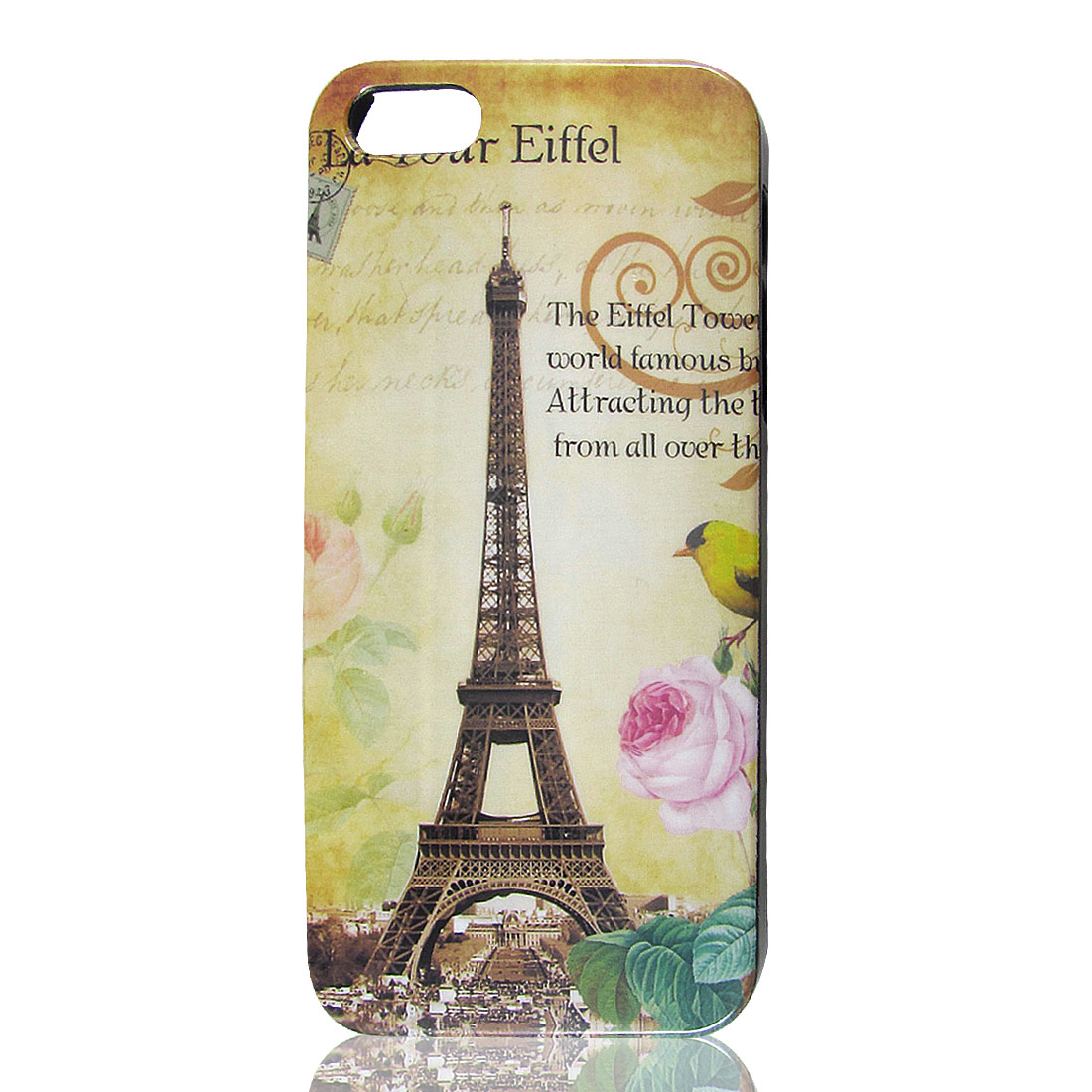 Classic Paris Eiffel Tower Design Hard Back Case Cover for Apple iPhone 5 5G