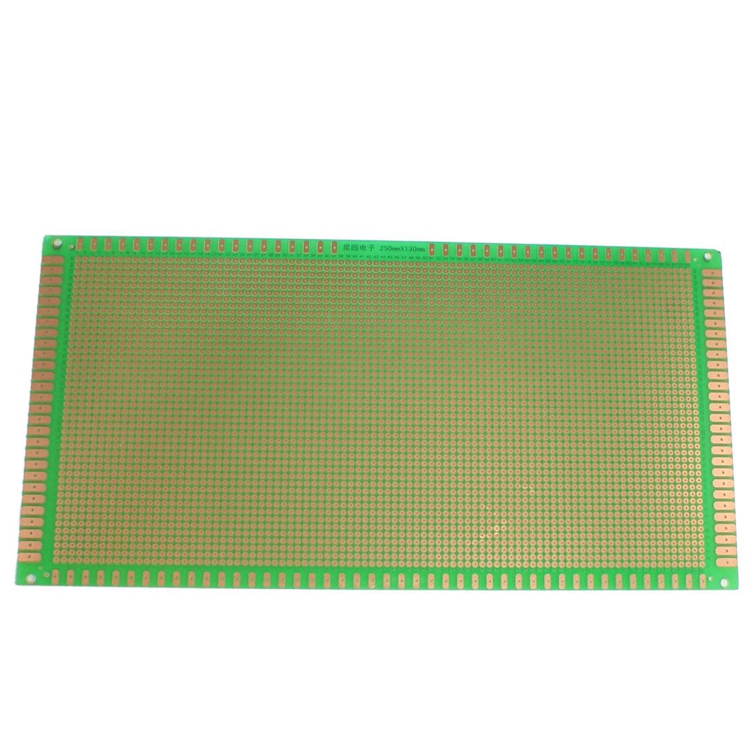Prototyping Single Side PCB Board Stripboard Green 25x13cm