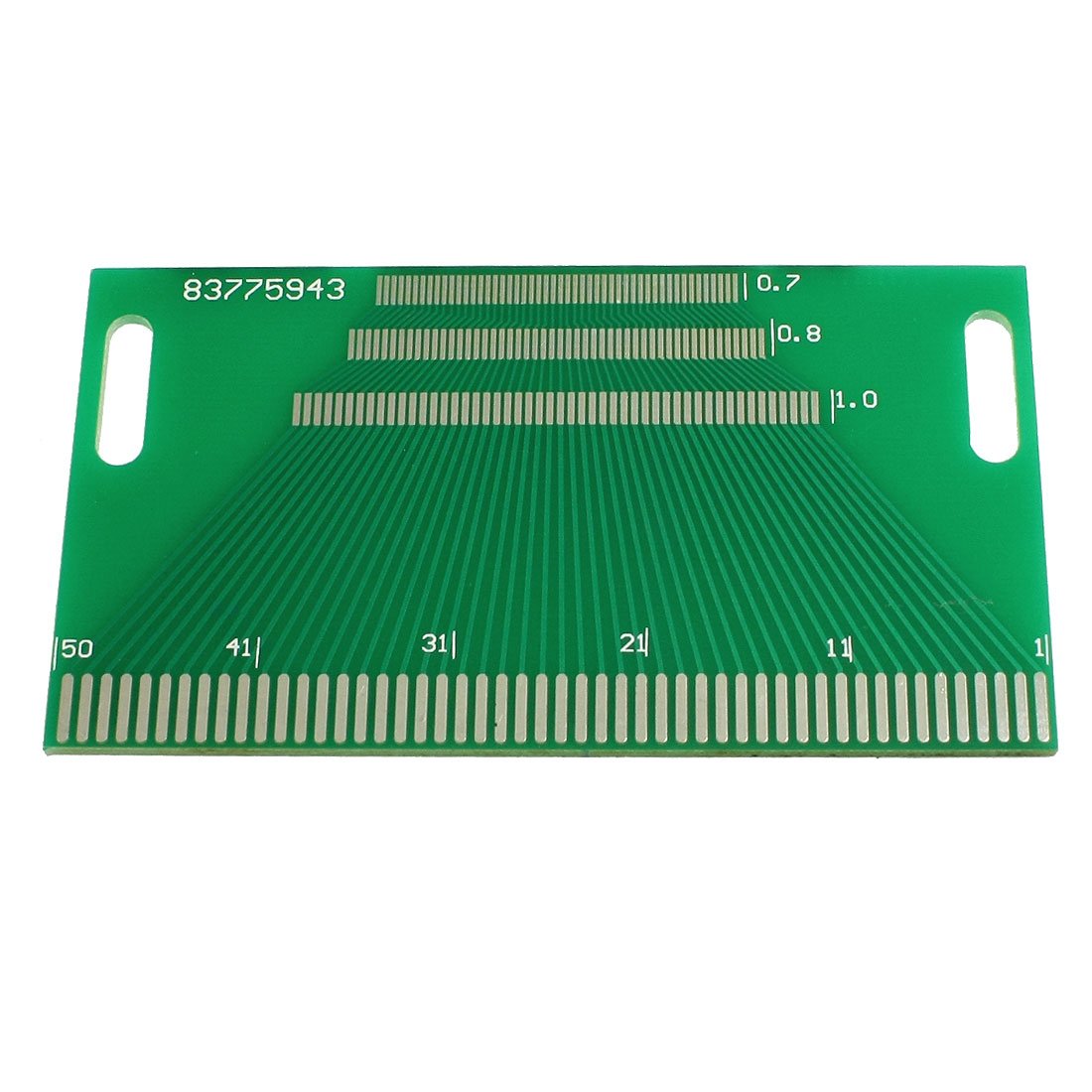 Single Side PCB Circuit Board Stripboard 50 Pin 90x50mm Green
