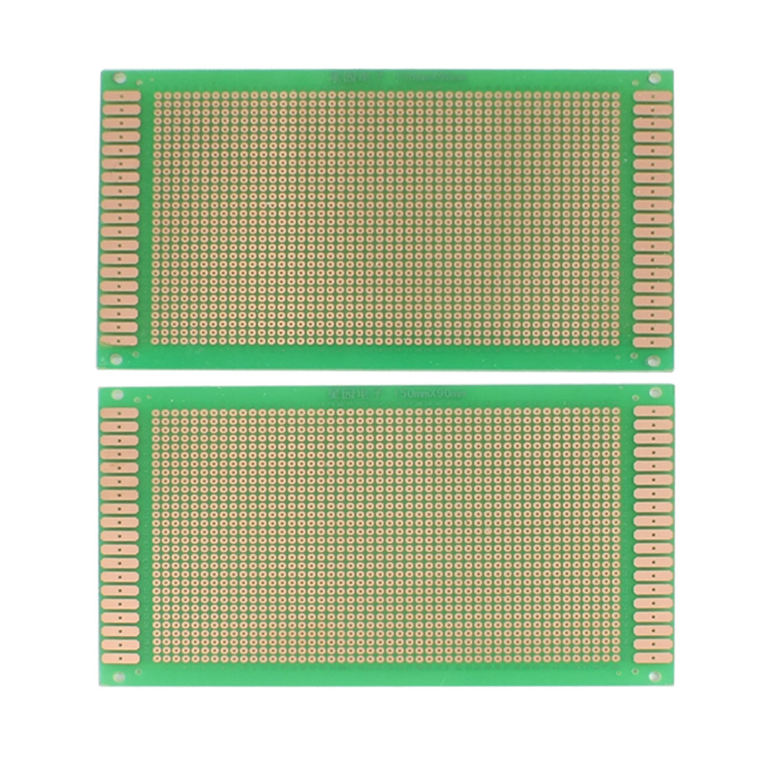 2 Pcs Single Side PCB Circuit Board Stripboard 15x9cm Green