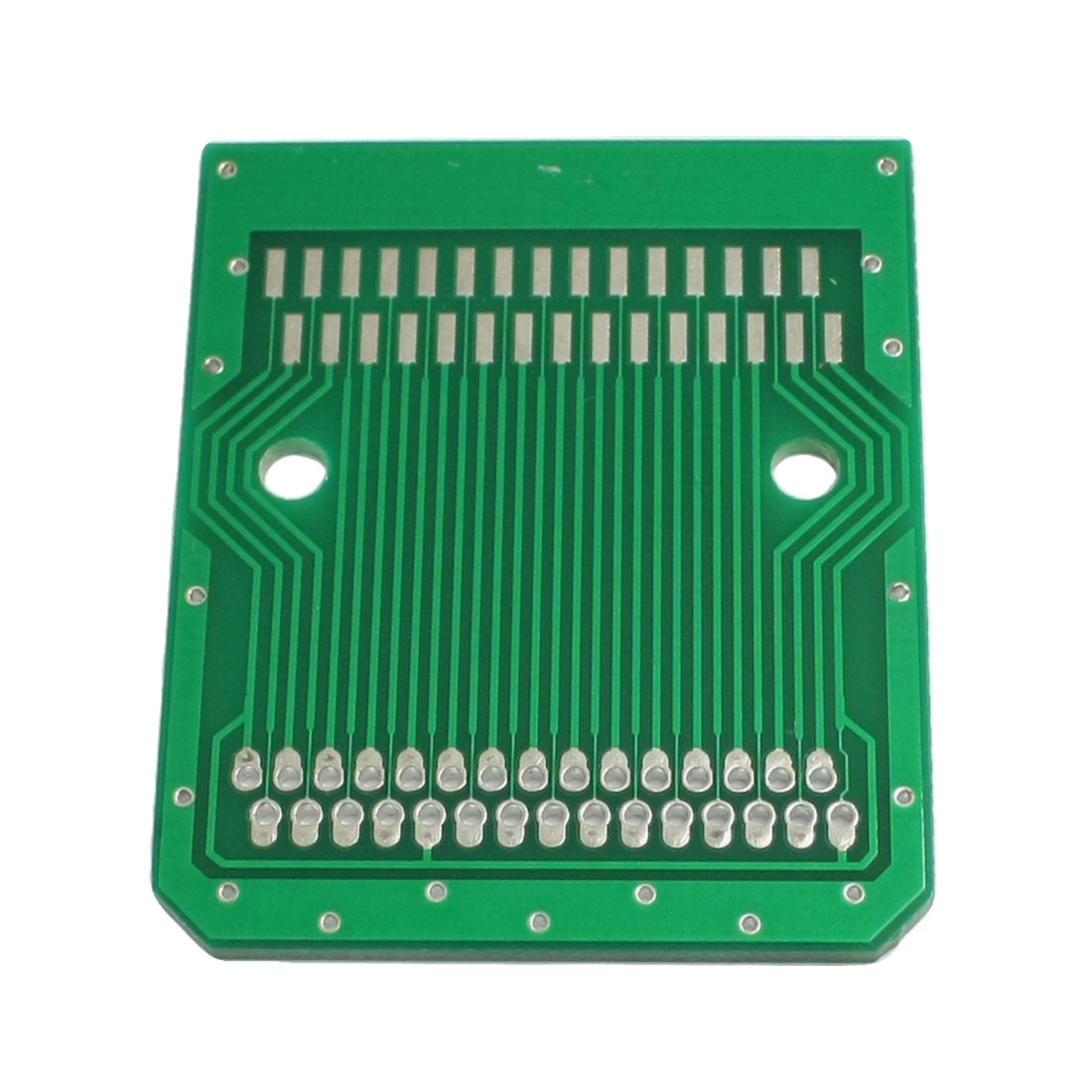 Universal PCB Circuit Board Stripboard 30 Pin 46x38mm Green