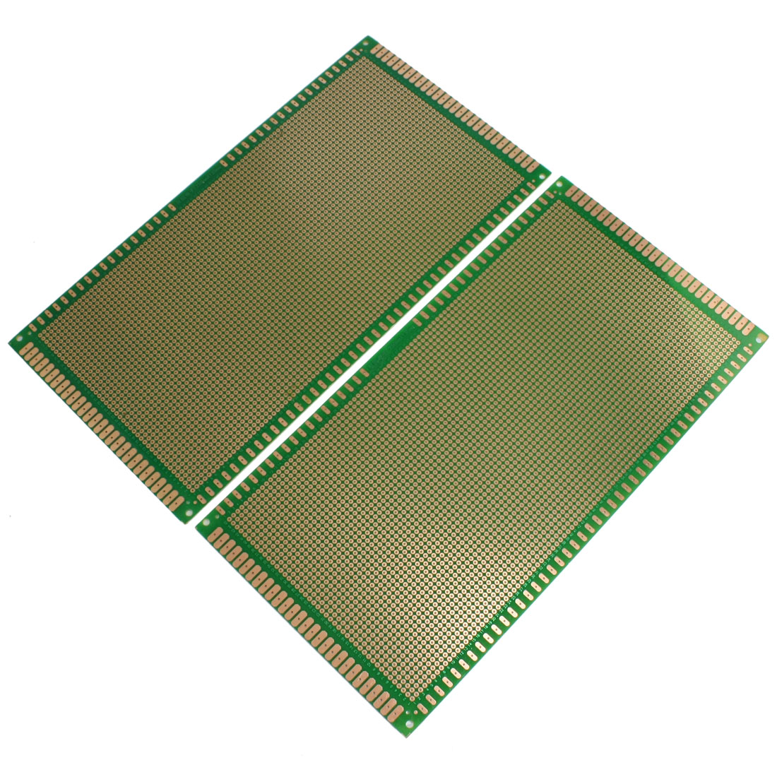 2 Pcs Prototyping Single Side PCB Board Stripboard 25x13cm