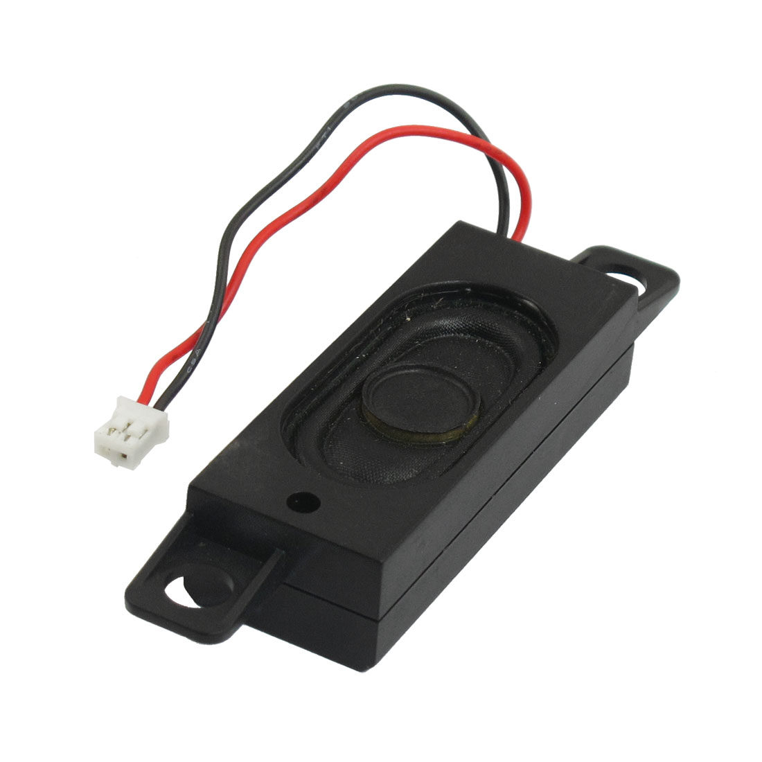 Black Plastic Housing Music Audio Speaker Horn 8 Ohm 2W