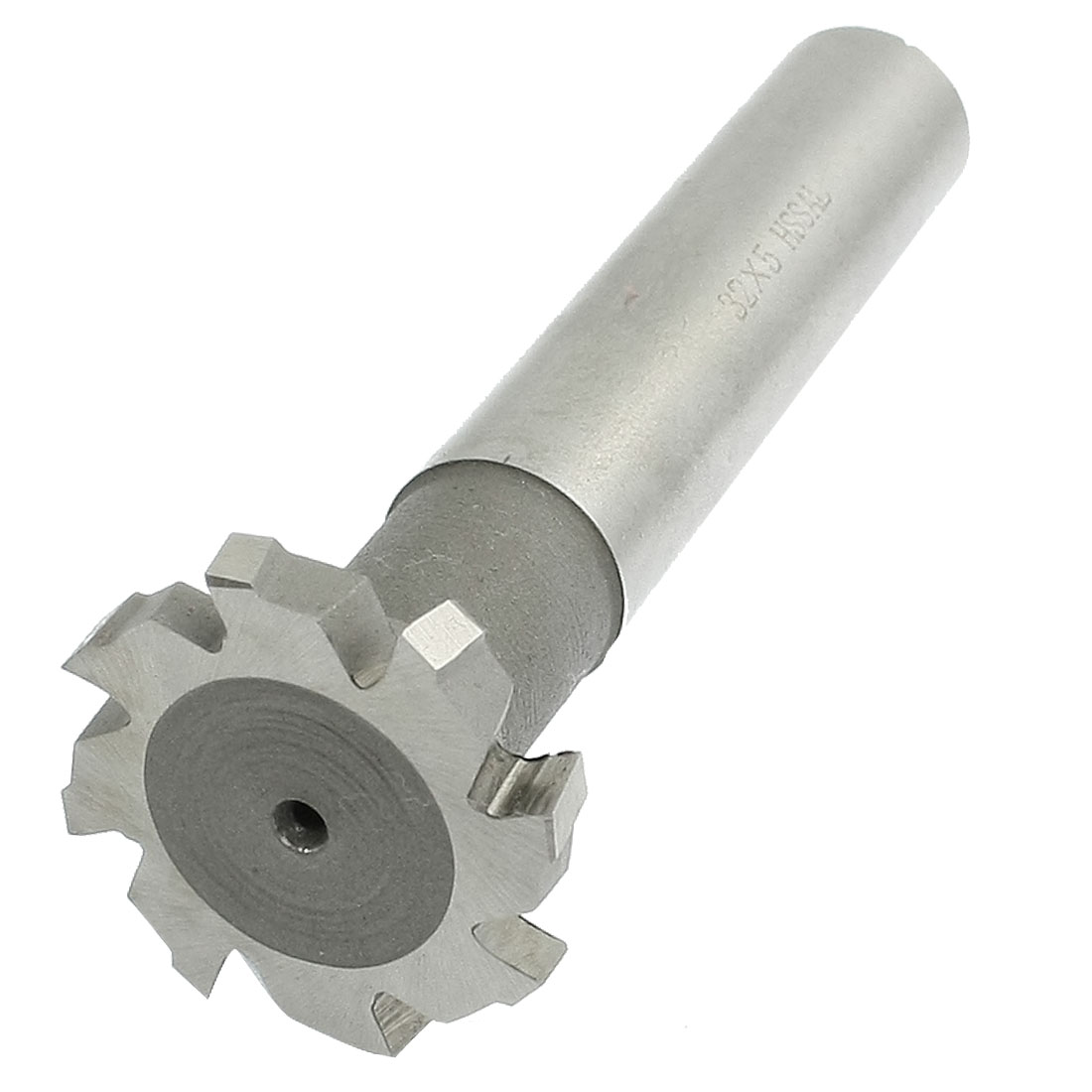 "Replacing 1 7/25"" x 1/5"" HSS 8 Flutes T Slot Cutter End Milling Cutter"