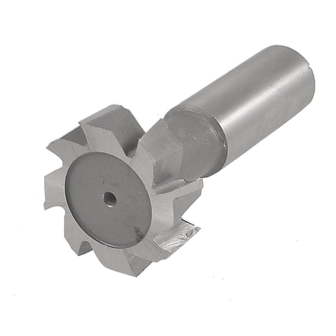 """1 9/16"""" x 1/2"""" HSS AL 8 Flutes T Slot Milling Cutter End Mill w Plastic Storage Box"""