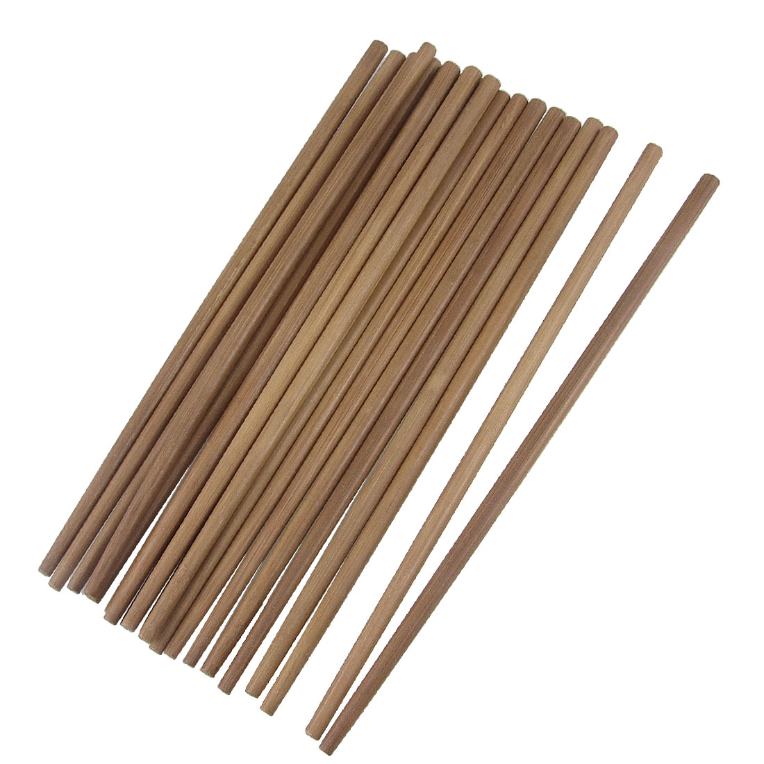 "Restaurant Home Kitchen Bamboo Chopsticks Brown 9.4"" Long 10 Pairs"
