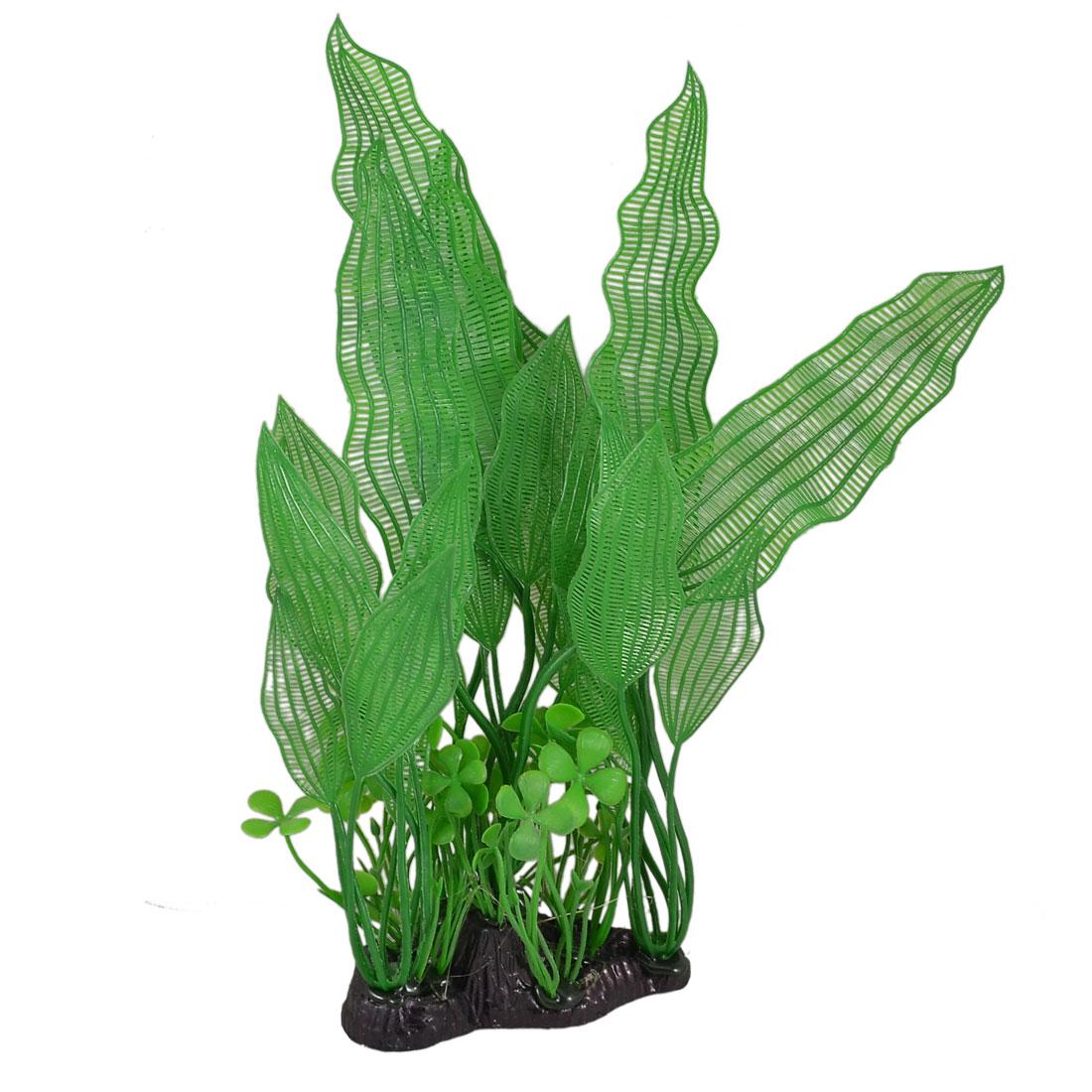 30cm Height Artificial Plastic Grass Green for Aquarium