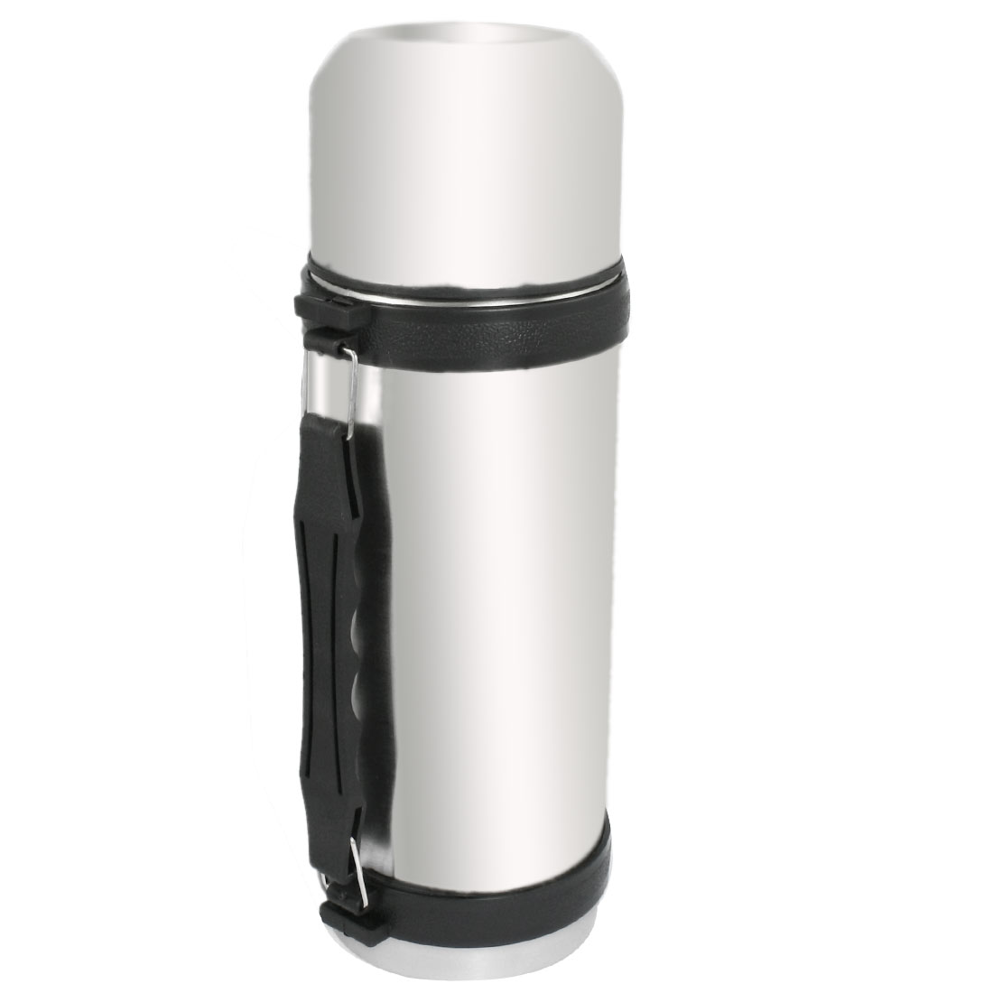 380ml Stainless Steel Vacuum Insulated Flask Bottle Silver Tone