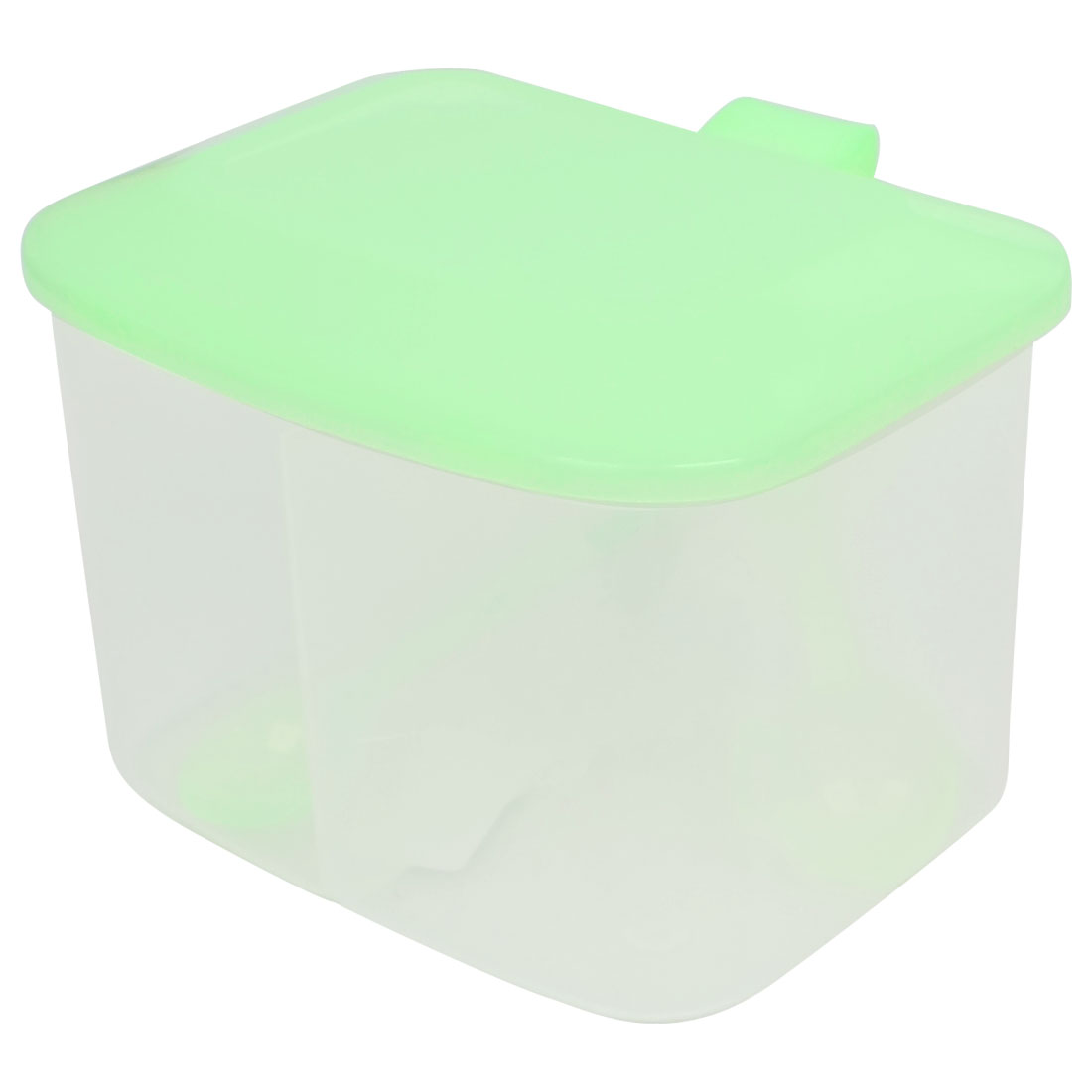 Kitchen Light Green Plastic 2 Seasoning Box Spices Condiment Container Case