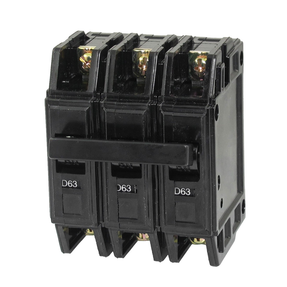 AC 220V/380V 63A 3P Plastic Housing Moulded Case Circuit Breaker DZ12-63 D63