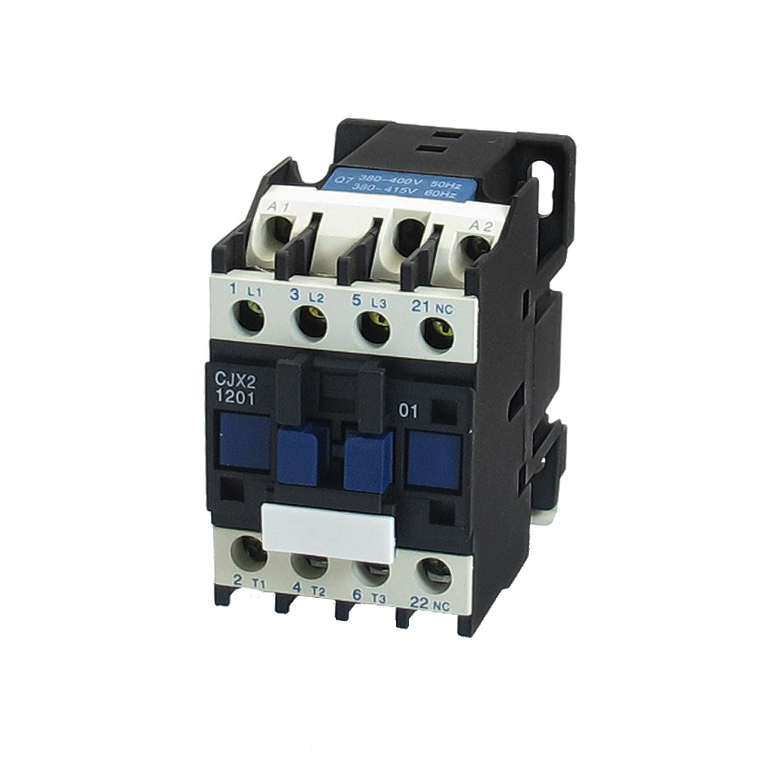 380-415V Coil Motor Controler AC Contactor 3P 3 Pole NC 660V 7.5KW CJX2-1201