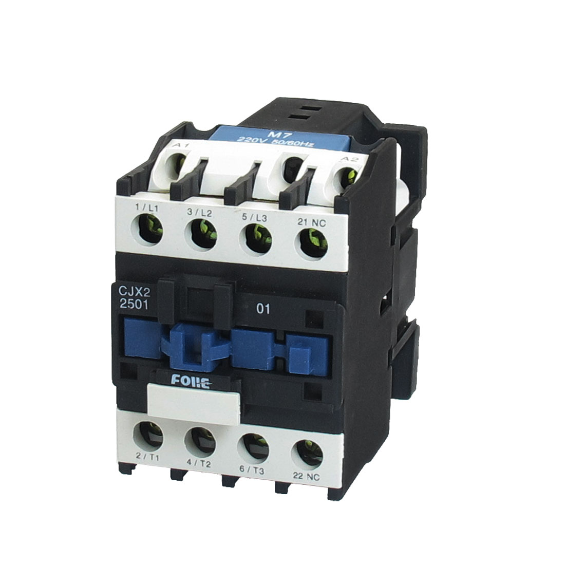 CJX2-2501 660V 18A 15KW 3 Poles 3P NC DIN Rail AC Contactor 220V Coil