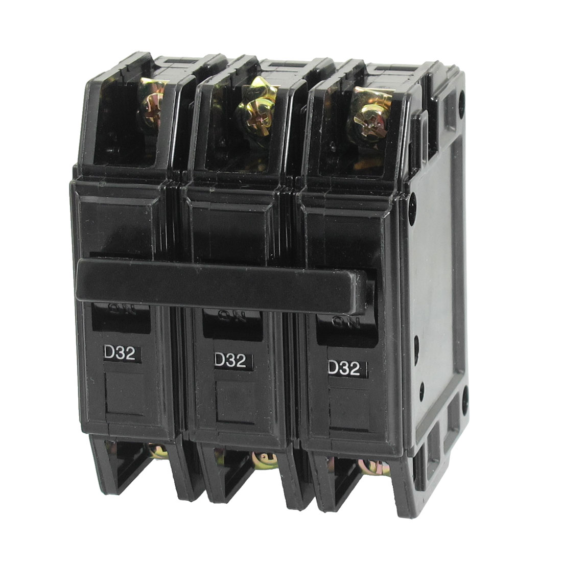 AC 220V 380V 32A 3P 3 Pole Moulded Case Circuit Breaker DZ12-63 D32