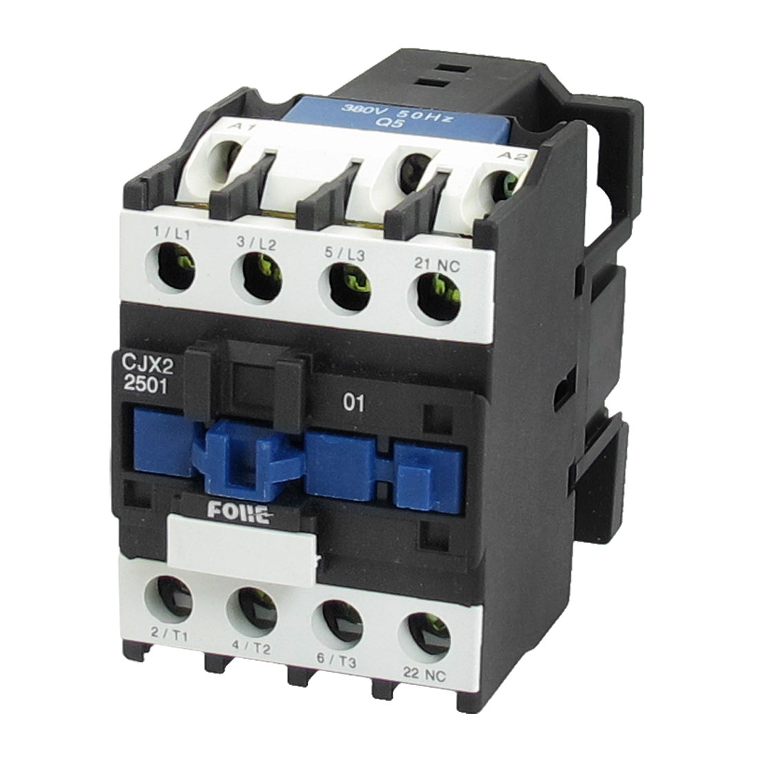 380V Coil Motor Controler AC Contactor 3 Pole 3P NC 660V 15KW CJX2-2501