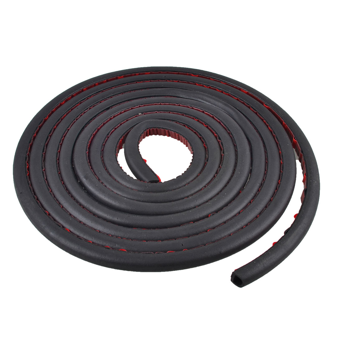 Car Auto Door D Shaped Weatherstrip Seal Black 9.8ft