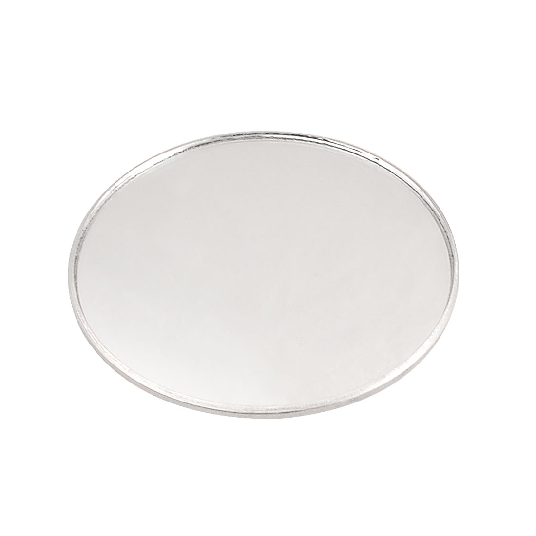 """Silver Tone Car Auto 3"""" Round Side Side Rearview Blind Spot Mirror"""