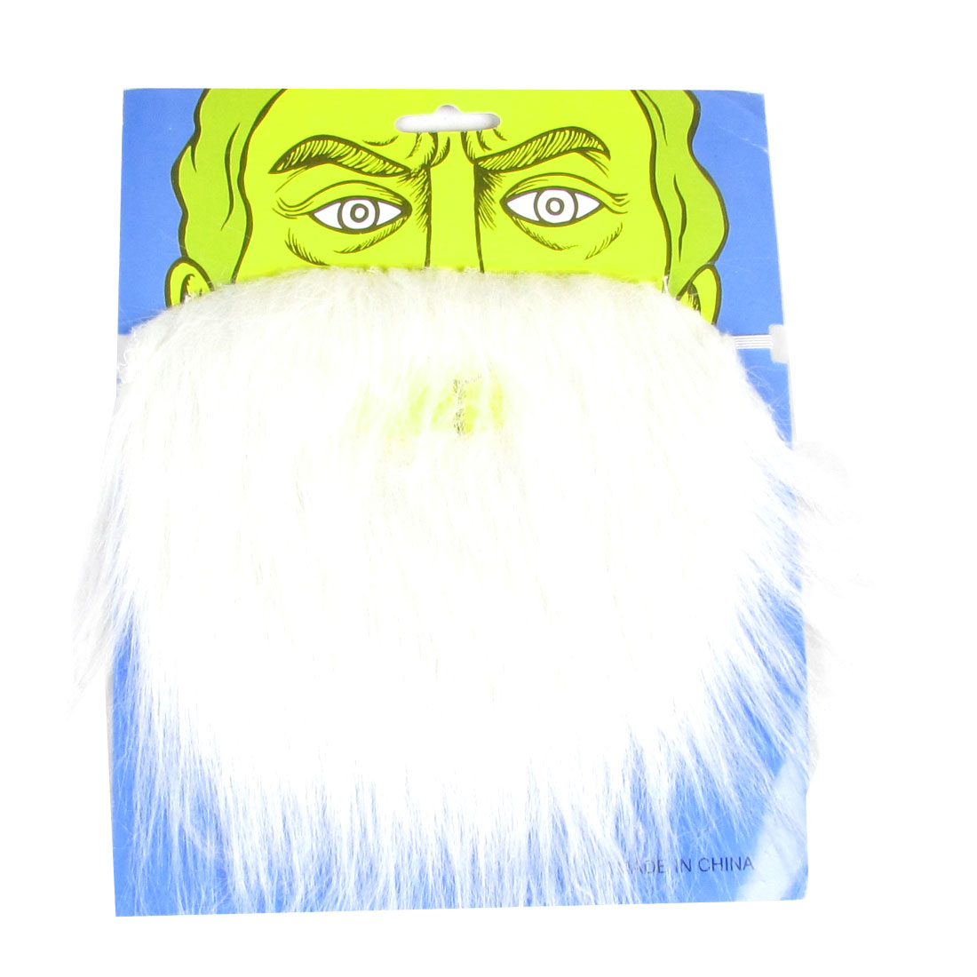 Christmas Xmas Gift White Long Santa Claus Beard for Adults