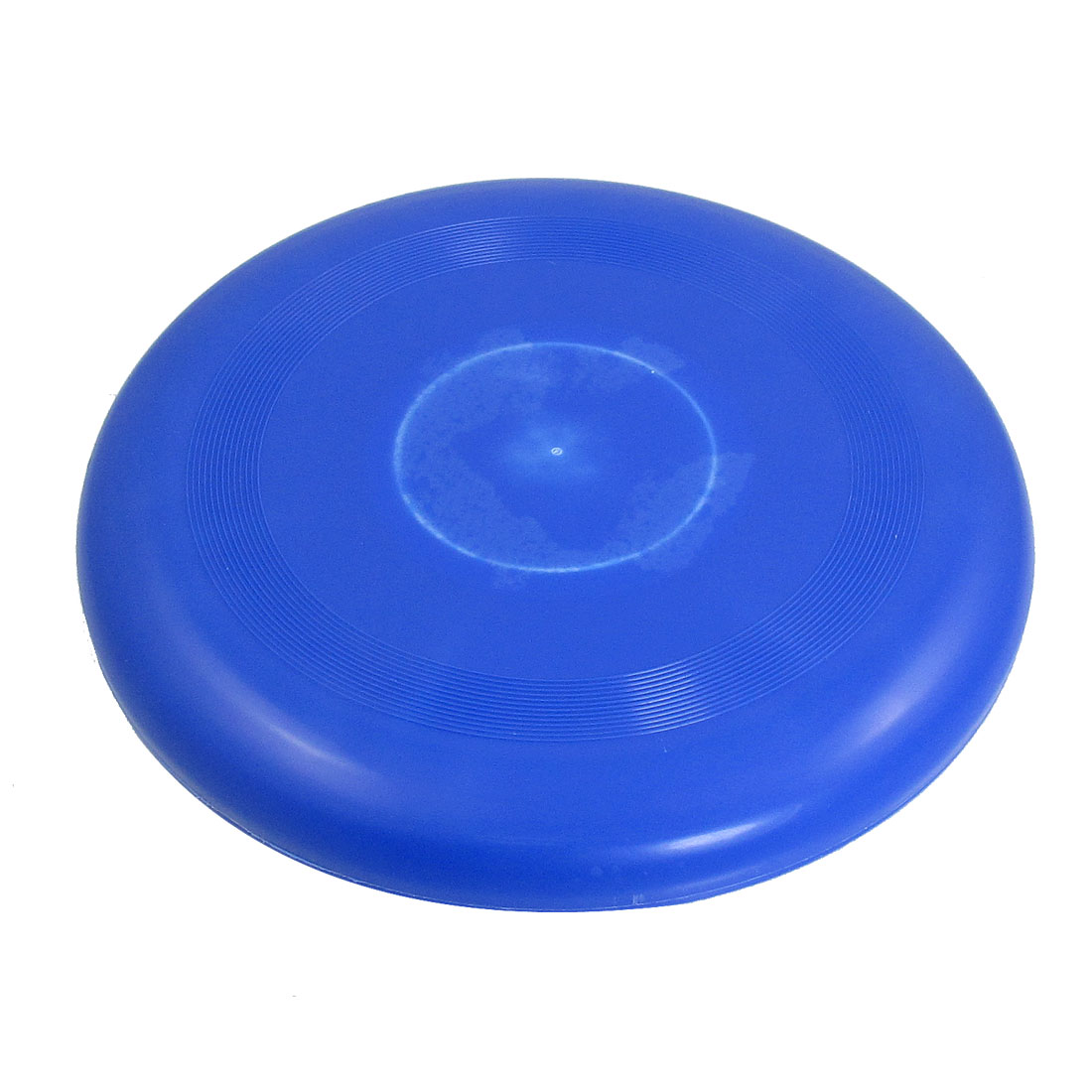 "Children Blue Plastic 9.2"" Dia Flying Round Disc Frisbee Toy"