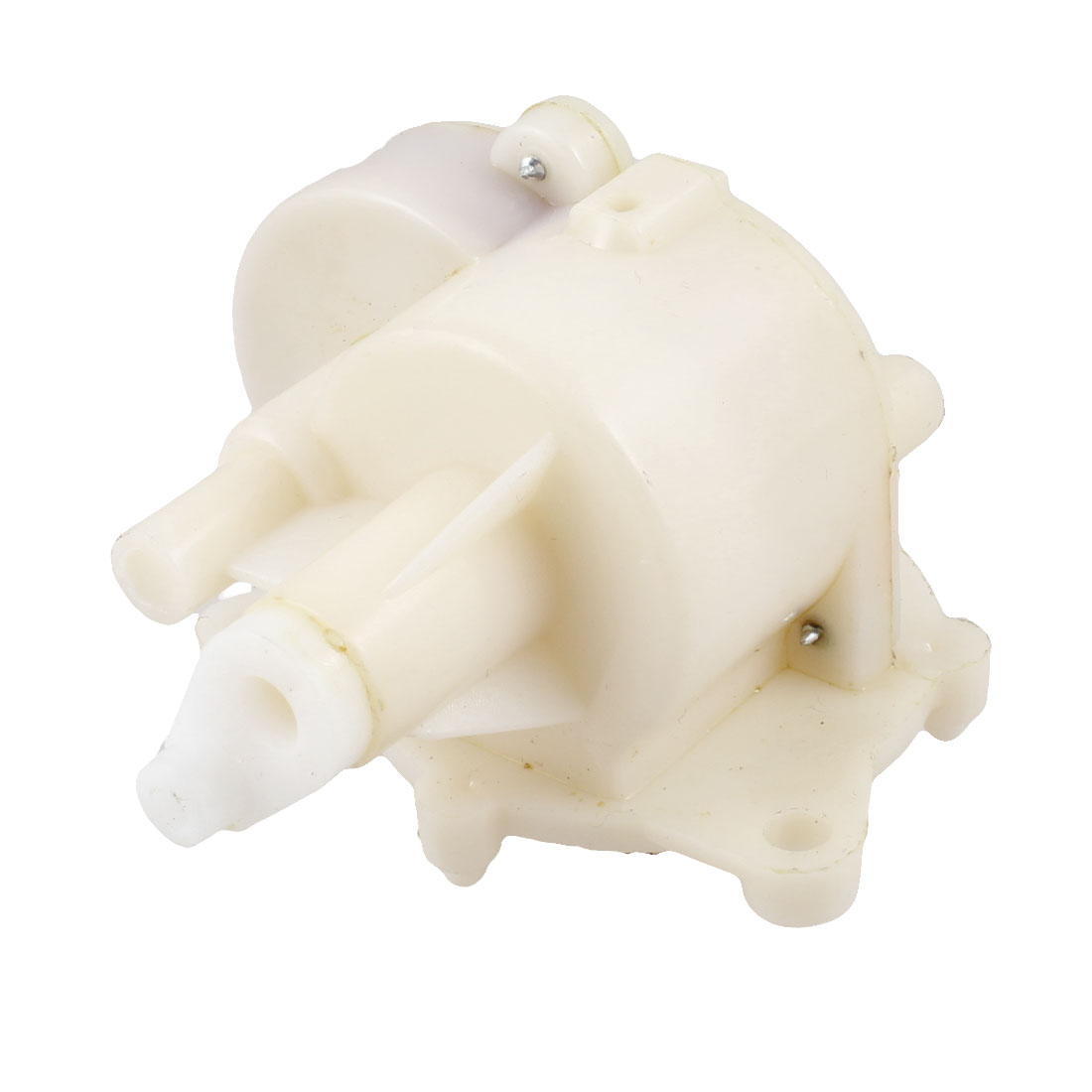 Household Electric Fan Spare Part Beige Plastic Gear Box