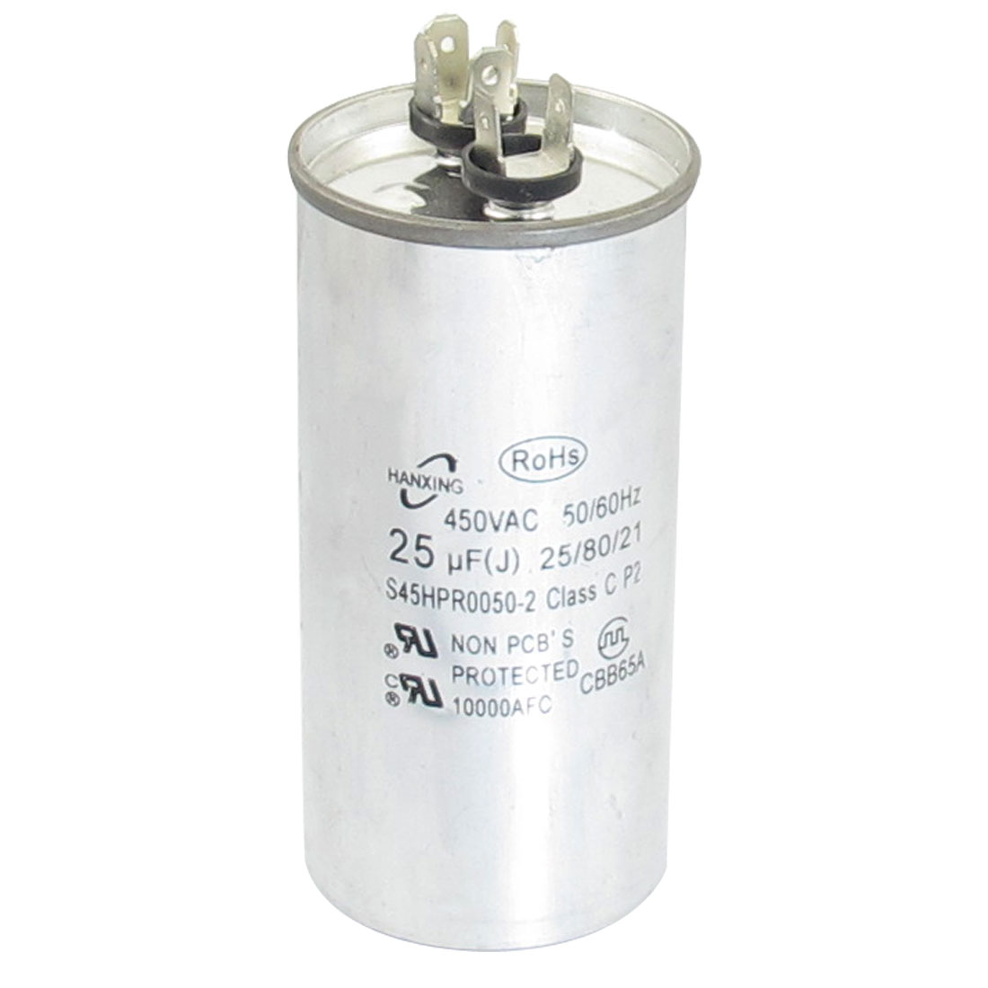 AC 450V 25uF Motor Run Air Conditioner Capacitor CBB65A