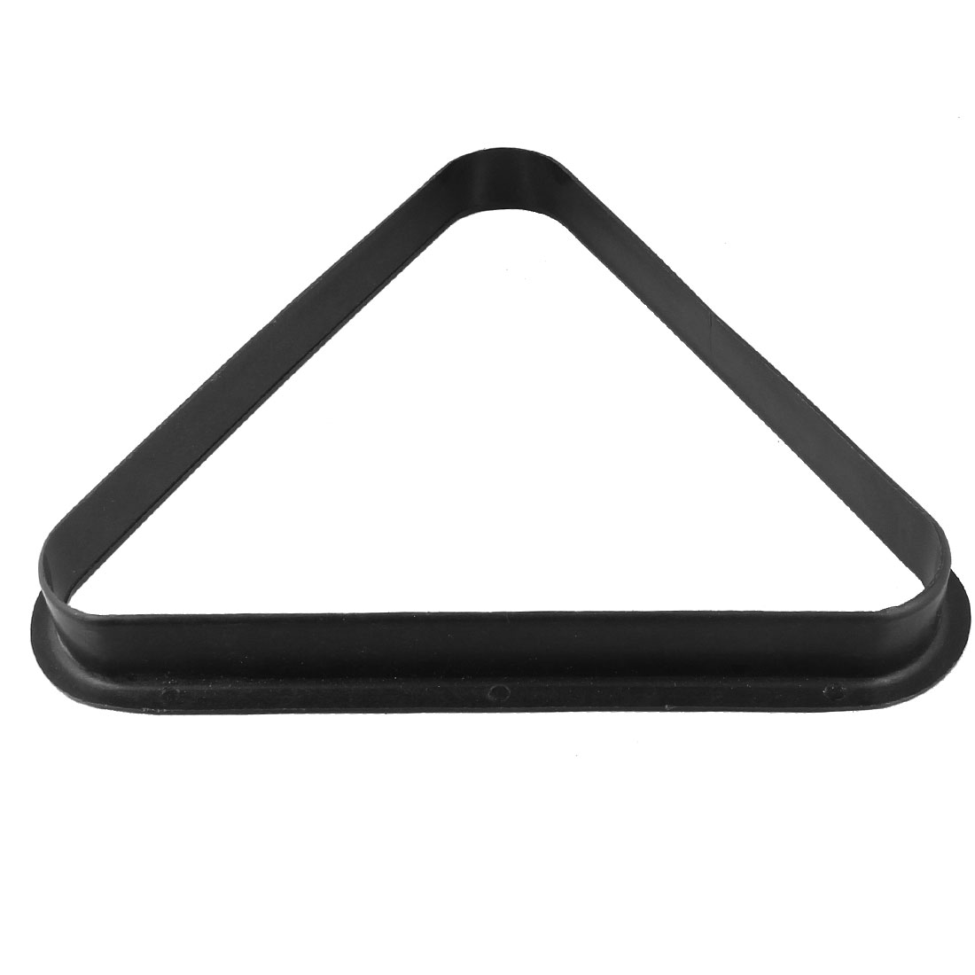 Black Plastic Triangle Billiard Pool Table 8 Balls Rack