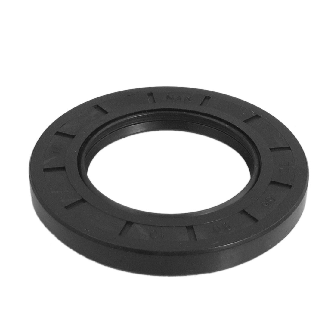 Black Nitrile Rubber Dual Lips Oil Shaft Seal TC 55mm x 90mm x 10mm