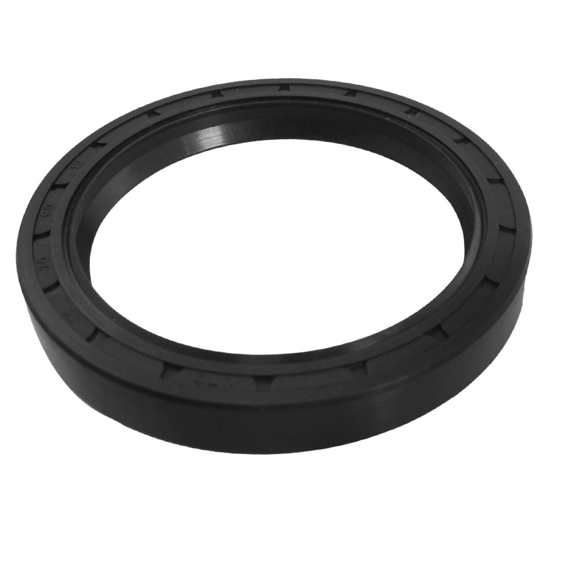 Black Nitrile Rubber Dual Lips Oil Shaft Seal TC 70mm x 90mm x 12mm