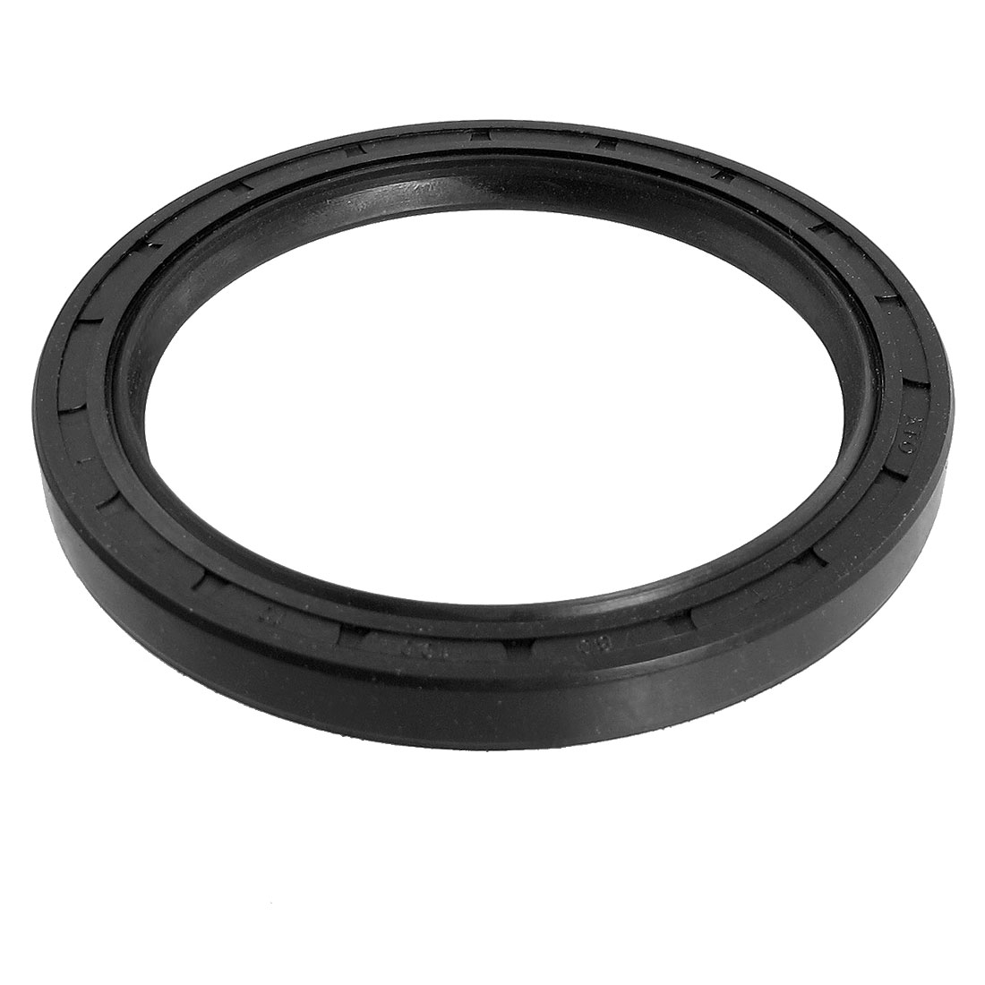 Black Nitrile Rubber Dual Lips Oil Shaft Seal TC 80mm x 100mm x 10mm