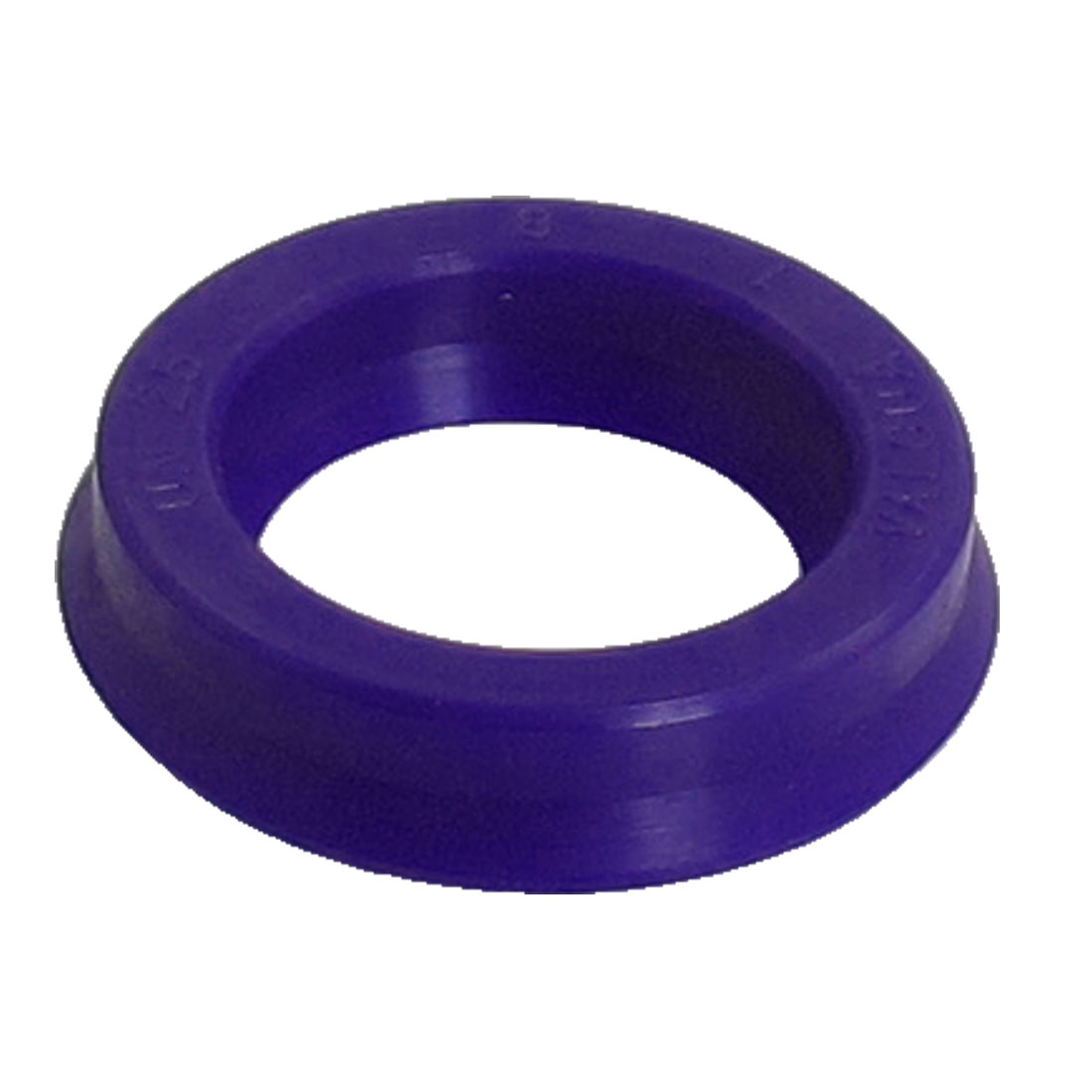 Blue PU 25mm x 35mm x 8mm Double Lip Sealing Cushion Dust Seal Ring