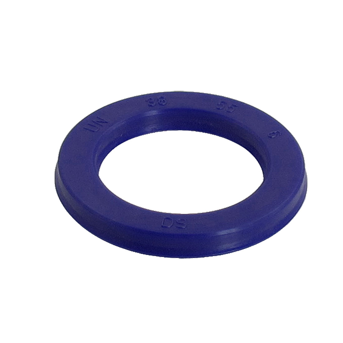 Blue PU 38mm x 55mm x 6mm Double Lip Sealing Cushion Dust Seal Ring