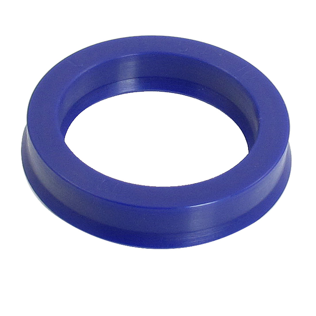 Blue PU 38mm x 50mm x 10mm Double Lip Sealing Cushion Dust Seal Ring