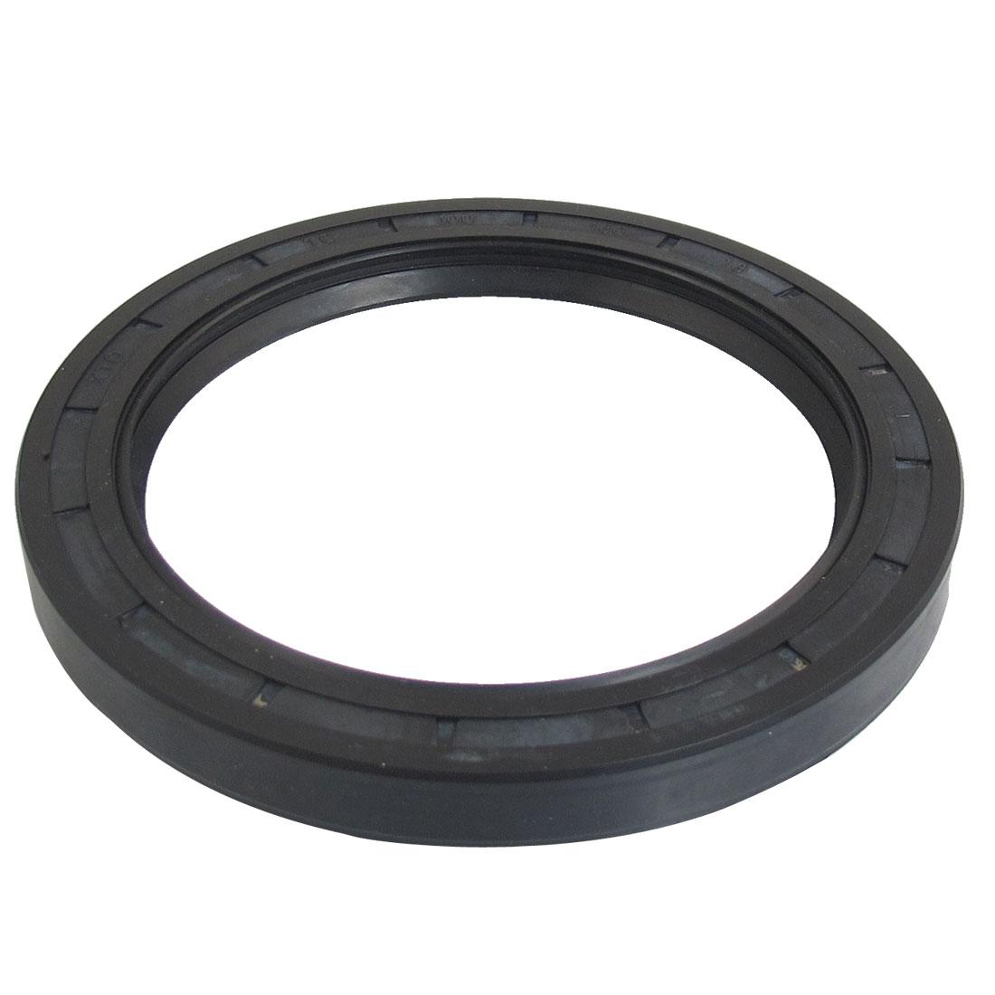 Black Nitrile Rubber Dual Lips Oil Shaft Seal TC 100mm x 130mm x 13mm