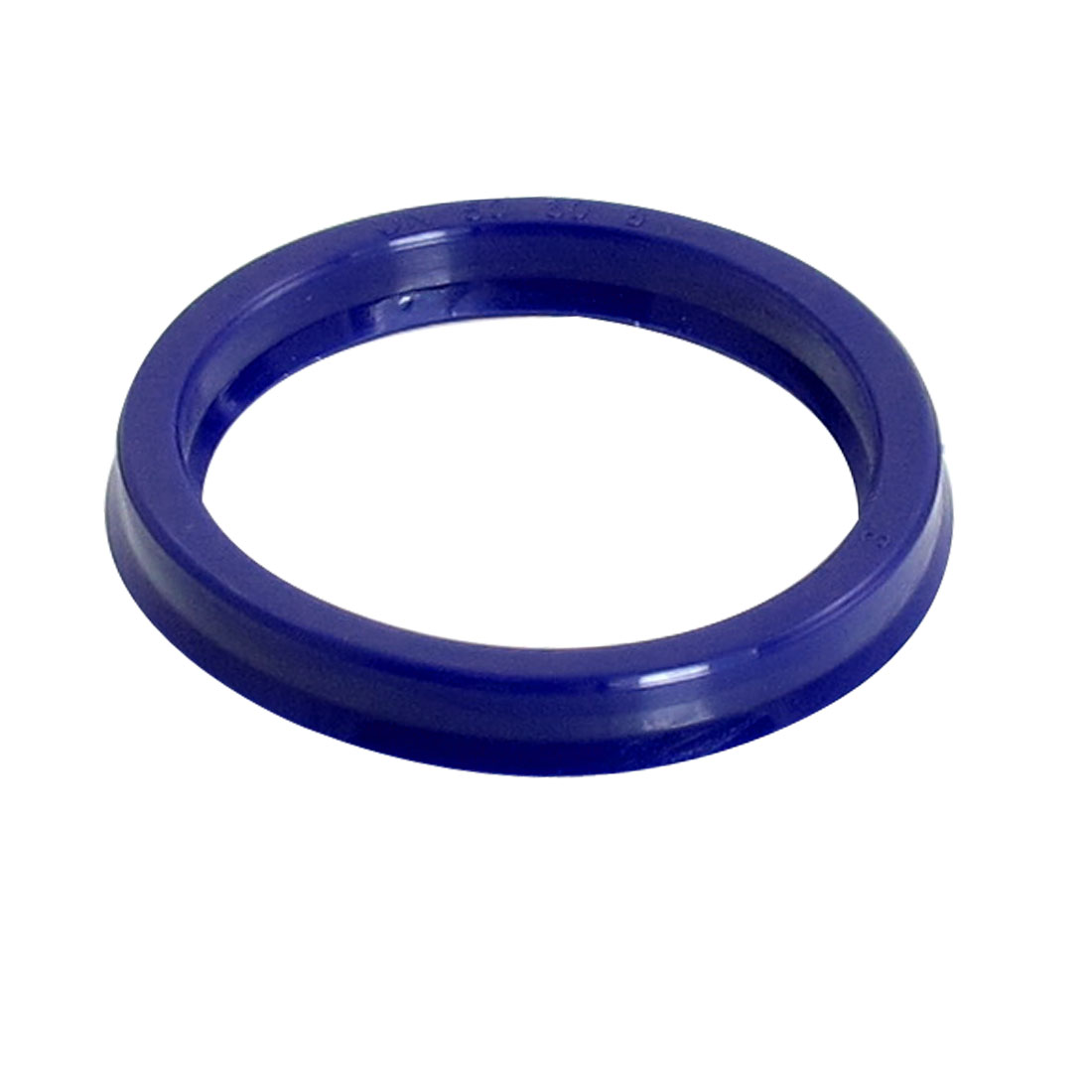 Blue PU 50mm x 60mm x 8mm Double Lip Sealing Cushion Dust Seal Ring