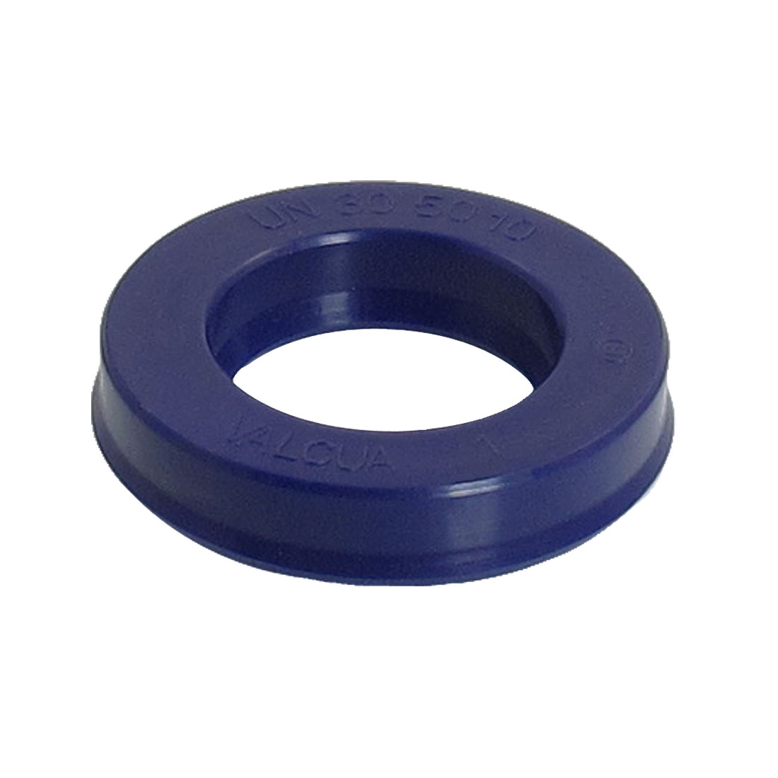 Blue PU 30mm x 50mm x 10mm Double Lip Sealing Cushion Dust Seal Ring