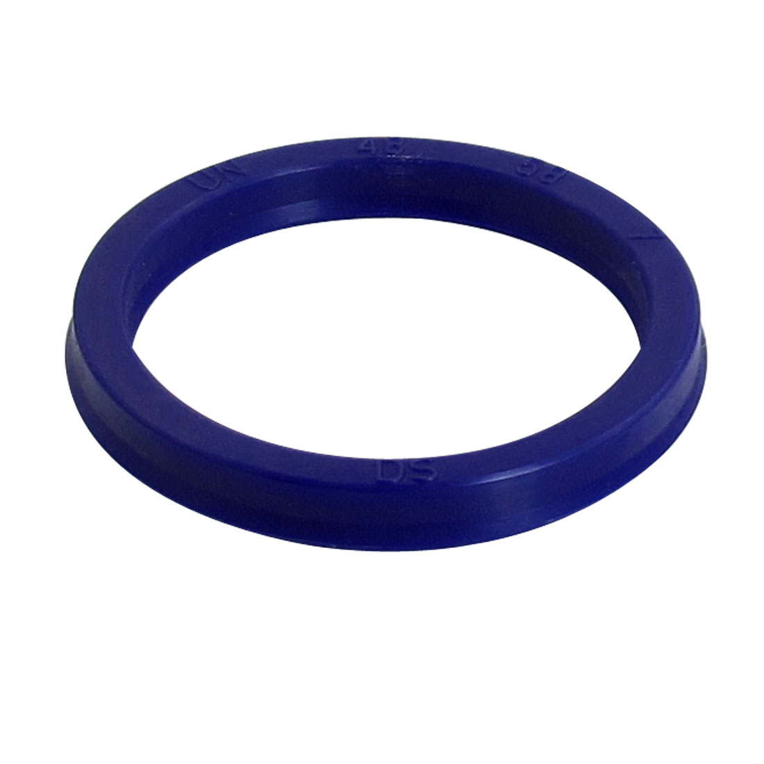 Blue PU 48mm x 58mm x 7mm Double Lip Sealing Cushion Dust Seal Ring