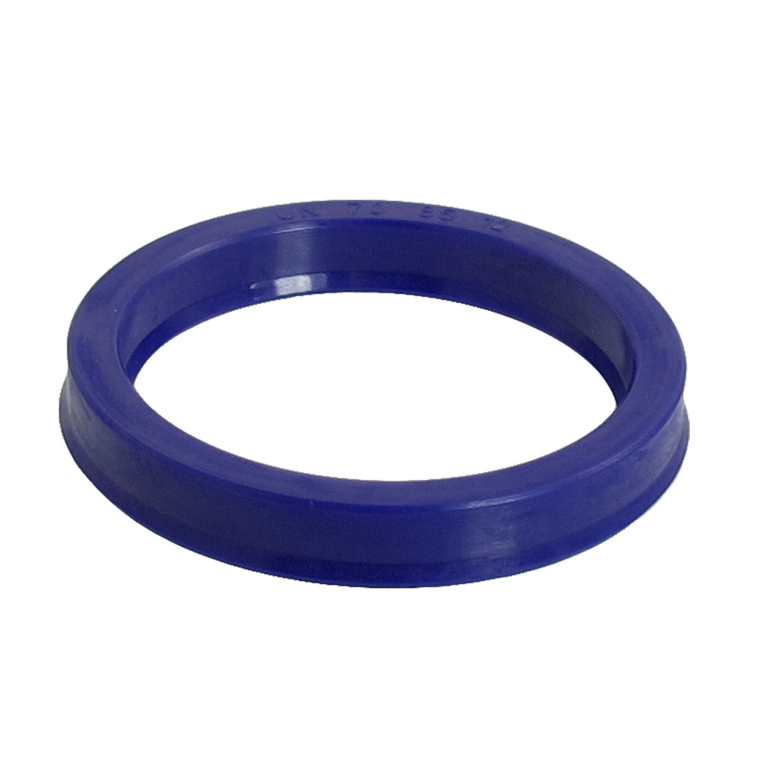 Blue PU 70mm x 85mm x 12mm Double Lip Sealing Cushion Dust Seal Ring