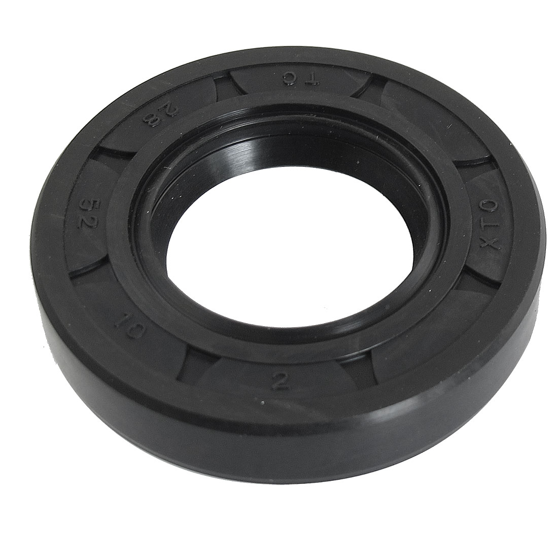 Black Nitrile Rubber Dual Lips Oil Shaft Seal TC 28mm x 52mm x 10mm