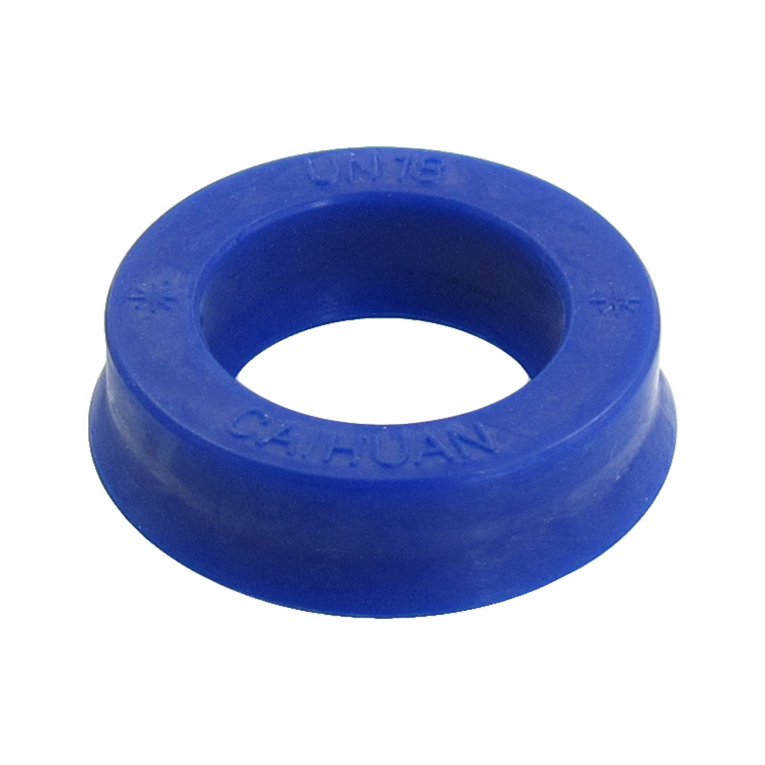 Blue PU 18mm x 28mm x 8mm Double Lip Sealing Cushion Dust Seal Ring