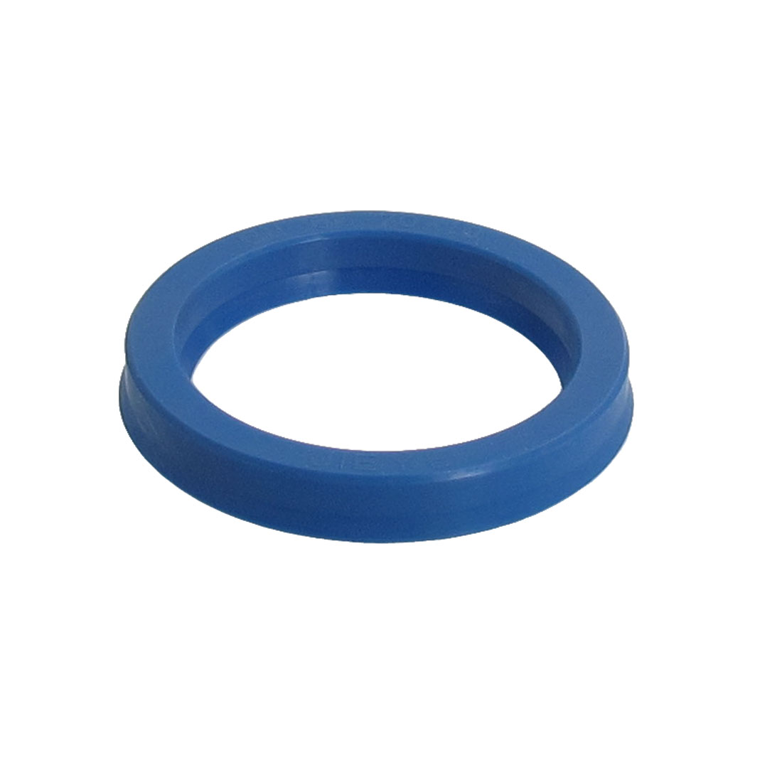 Blue PU 55mm x 70mm x 10mm Double Lip Sealing Cushion Dust Seal Ring