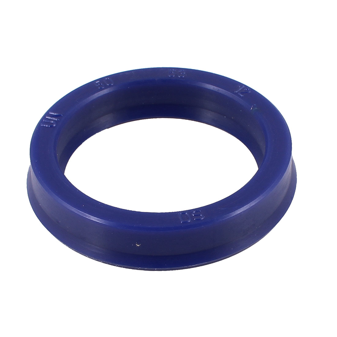 Blue PU 50mm x 63mm x 12mm Double Lip Sealing Cushion Dust Seal Ring