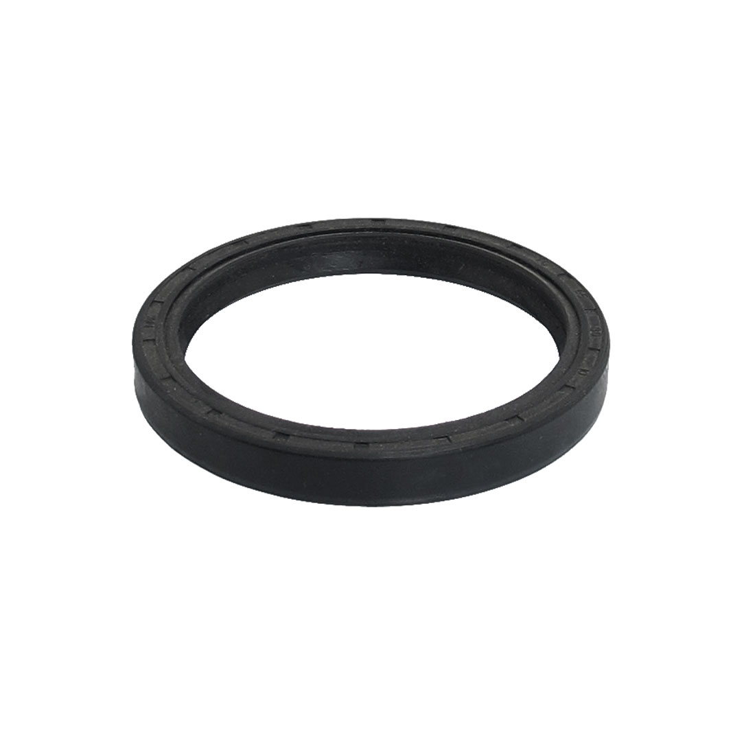 65mm x 80mm x 10mm Black Nitrile Rubber Metric Double Lip Oil Seal TC