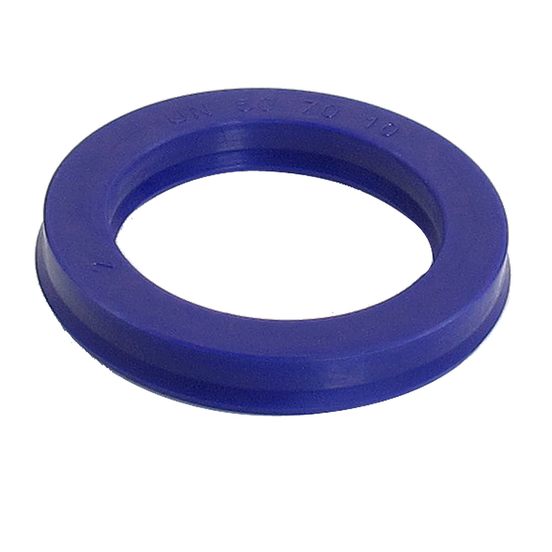Blue PU 50mm x 70mm x 10mm Double Lip Sealing Cushion Dust Seal Ring